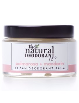 Natural Deodorant Co Clean Deodorant Balm   Palmarosa & Mandarin   55g by Ethical Superstore