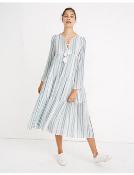 Madewell X Christy Dawn® Striped Paloma Midi Dress by Madewell