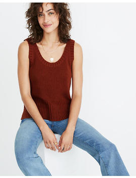 Minton Scoop Sweater Tank by Madewell