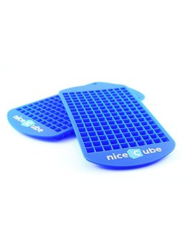 Nice Cube Mini Ice Cube Trays   Great For Small Crushed Ice   Silicone Ice Tray Molds, 2 Pack by Nice Cube