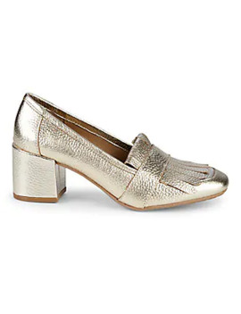 Michelle Kiltie Top Pebbled Loafers by Kenneth Cole Reaction
