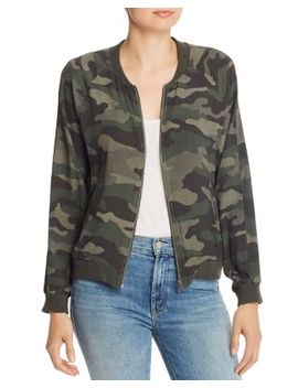 Can't See Me Camo Bomber Jacket by Bb Dakota