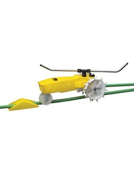 Nelson 818653 1001 Traveling Sprinkler Rain Train 13,500 Square Feet Yellow 818653 by Nelson