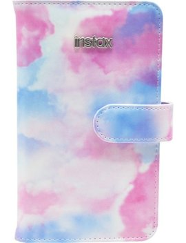 Instax Wallet Photo Album   Watercolor With Rose Gold by Fujifilm
