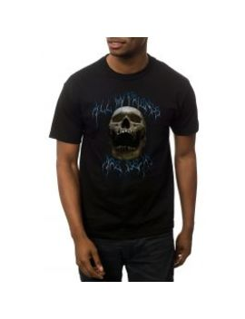 The All My Friends Are Dead Tee In Black by Fyl