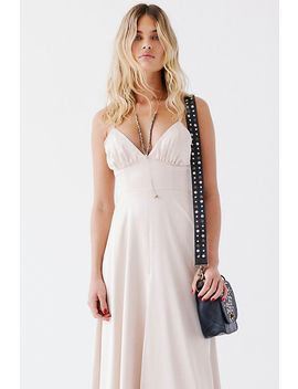 Charlotte Strappy Gown by Fame And Partners