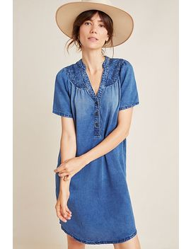 Pilcro Chambray Tunic Dress by Pilcro And The Letterpress
