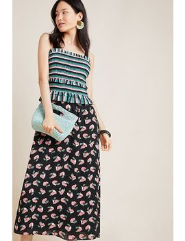 Jaya Contrast Maxi Dress by Hailee C