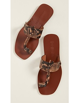 Knotted Sandals by Zimmermann