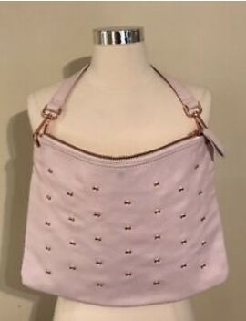 Ted Baker Aletine Pink Embellished Bows Large Shoulder Laptop Bag by Ted Baker