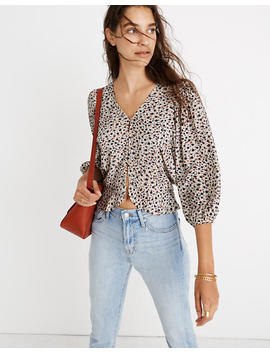 Madewell X Christy Dawn Emmy Top In Windflowers by Madewell
