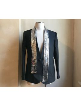 Maison Martin Margiela X H&M Rare Tailored Mirror Scarf Blazer Coat Jacket 44 54 by Maison Martin Margiela