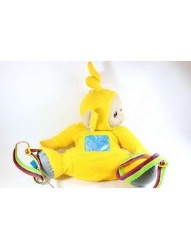 Teletubbies La La Yellow Laa Laa Telly Tubby Large Backpack Bag Retro Playskool by Hasbro