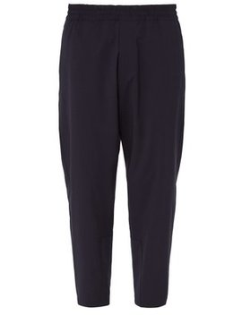 Relaxed Fit Virgin Wool Trousers by Prada