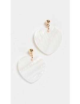 Sheen Skim Earrings by Cloverpost