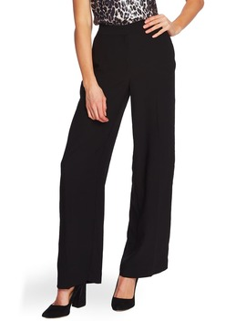 Wide Leg Rumple Satin Pants by Vince Camuto