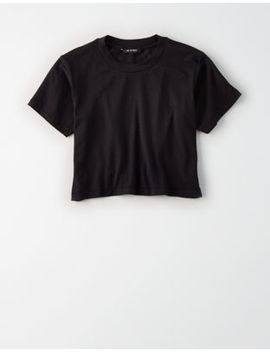 Ae Studio Cropped T Shirt by American Eagle Outfitters