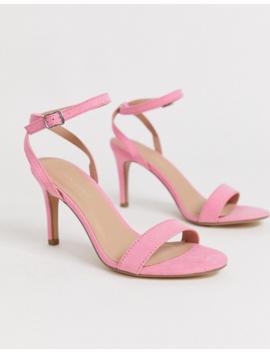 New Look Kitten Heel In Light Pink by New Look