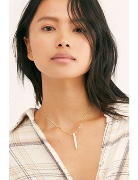 Acres Crystal Necklace by Free People