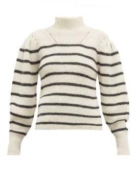 Georgia Striped Alpaca Blend Sweater by Isabel Marant Étoile