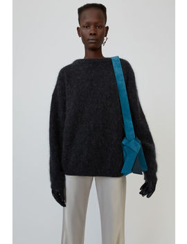 Oversized Sweater Warm Charcoal by Acne Studios