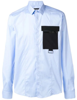 Contrast Pocket Shirt by Les Hommes