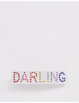 Skinnydip Darling Rainbow Gem Hair Clip by Skinnydip