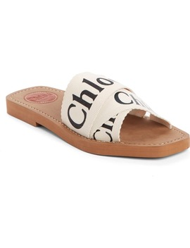 Logo Slide Sandal by ChloÉ