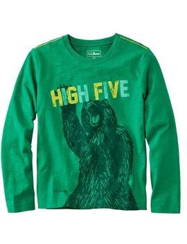 Kids' Graphic Tee, Long Sleeve, Glow  In The Dark by L.L.Bean