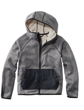 Kids' Adventure Water Resistant Hoodie, Colorblock by L.L.Bean