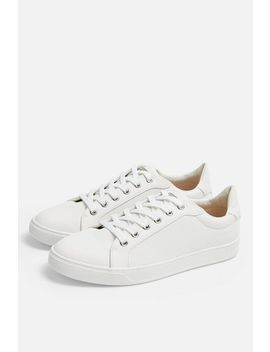 **Wide Fit Cola Trainers by Topshop