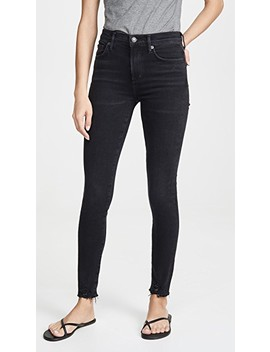 Sophie Mid Rise Ankle Jeans by Agolde