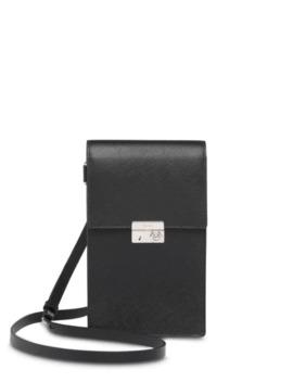Saffiano Leather Messenger Bag by Prada