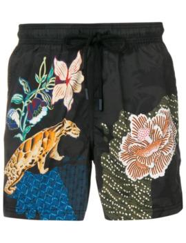 Jungle Swim Shorts by Etro