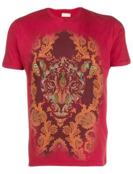 Leopard Print T Shirt by Etro