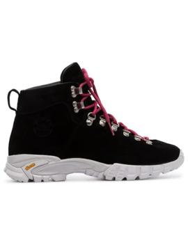 Black Maser Hiker Boots by Diemme