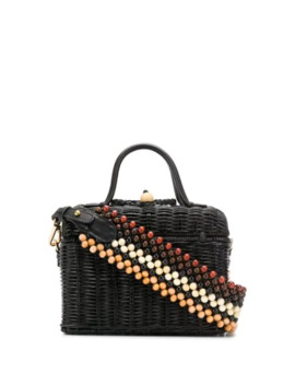 Woven Top Handle Tote by Ulla Johnson