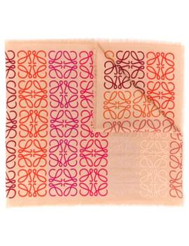 Anagram Print Scarf by Loewe