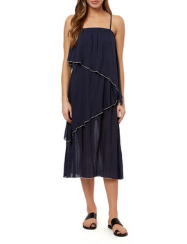 Lena Tiered Midi Dress by O'neill