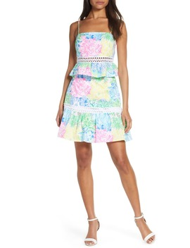 Jan Peplum Crop Top & Skirt Set by Lilly Pulitzer®