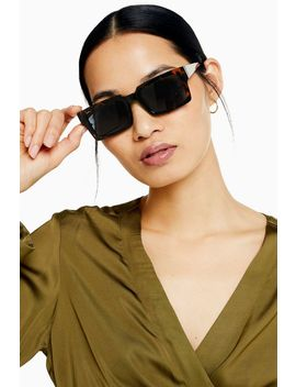 Retro Square Sunglasses by Topshop