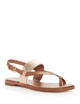 Women's Anica Leather Thong Sandals by Cole Haan