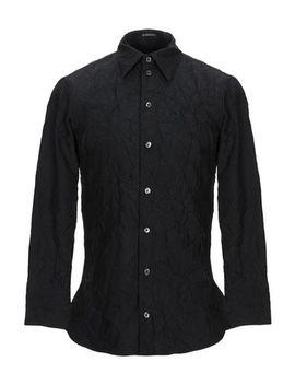 Ann Demeulemeester Einfarbiges Hemd   Hemden by Ann Demeulemeester
