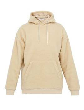 Logo Embroidered Fleece Hooded Sweatshirt by Givenchy