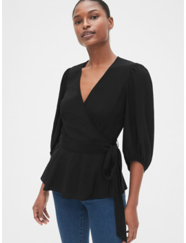 Wrap Blouse by Gap