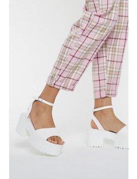 Sandales Compensées à Semelles Moulées Surclassée by Nasty Gal