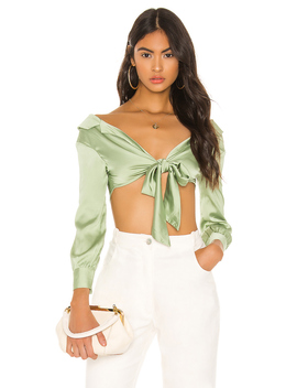 Fiona Off Shoulder Top by Superdown