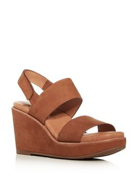Women's Hope Slingback Platform Wedge Sandals by Gentle Souls By Kenneth Cole