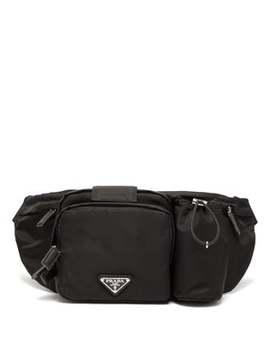 Square Nylon Belt Bag by Prada