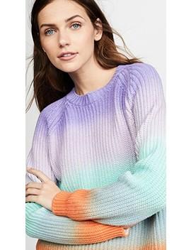 Dona Raglan Sleeve Pullover by Alice + Olivia